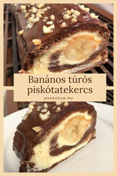 Sweet Desserts, Sweet Recipes, Delicious Desserts, Yummy Food, Hungarian Desserts, Hungarian Recipes, Pizzelle Recipe, Cookie Recipes, Dessert Recipes