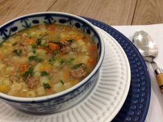 Sopa de Legumes, Carne e Macarrão - SeEUfizVCfaz