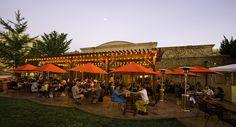 """33 Best Outdoor Dining Restaurants in Sonoma County 2017""  Healdsburg Bar & Grill"
