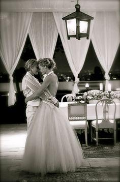 Ellen and Portia's wedding. One of my favorite pics.