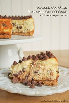 Nestle Toll House DelightFulls Chocolate Chip Caramel Cheesecake | Create Craft Love