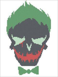 BOGO FREE! JOKER Marvel Suicide Squad Comics Character Cross stitch pattern-pdf…
