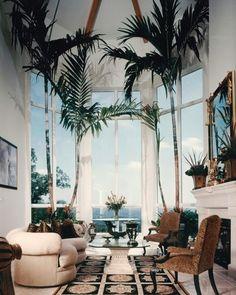80s 90s Interior Design Decor Furniture Palm Trees