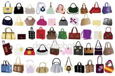 Free Download +2222 icon & Buy Vector icons by icon0.com - Bags for woman