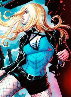 "batmaneveryway: ""Black Canary in Green Arrow #4 """