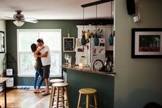 This Couple's Unique Engagement Photos Prove Home Is Where the Heart Is  - CountryLiving.com