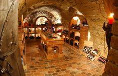 Wine Cellar Modern, Wine Cellar Design, Wine Label Design, Caves, Wine Furniture, Home Wine Cellars, Wine House, Underground Homes, Live In Style