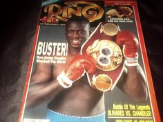 Vintage Copy Of The Ring Boxing Magazine by vintagepostexchange