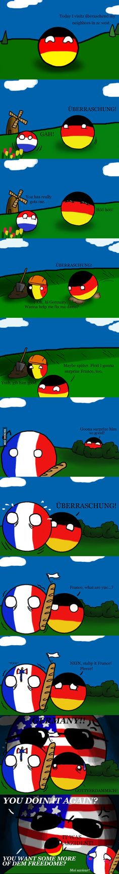 It is hard for Germany to make jokes