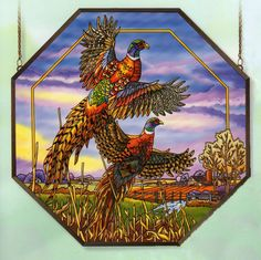 stained glass pheasant - Google Search