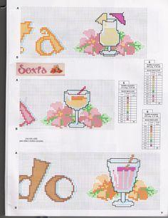 SEMANINHA COM BEBIDAS - http://artebycachopapontocruz.blogspot.com.br/2011/06/semaninha-com-bebidas.html