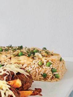 Enginarlı ve bezelyeli pirinç pilavı