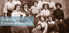 In anticipation of our upcoming Cluster and Collateral Research 101 course, let's look at some ways to solve genealogy problems with cluster research!