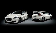 White Honda CR Z Images