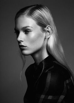 #model Charlene Hogger at Fashion, Milano