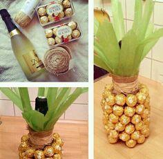 Diy botella regalo. Present for boy husban boyfriend