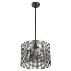 Trent Austin Design Elle 1-Light Drum Pendant