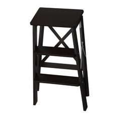 $39.99 | BEKVÄM Stepladder, 3 steps - black (also available in beech) | IKEA