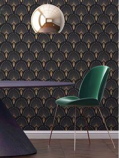 Revivez l'époque de la decadence avec « 1925 » de la gamme Art Déco ! Une création PaperMint, nouvelle marque parisienne de décoration murale.