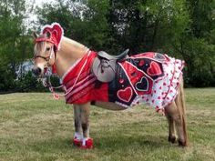 CKRH Ingrid as the Queen of Hearts. Horse costume by Shirley Gentry