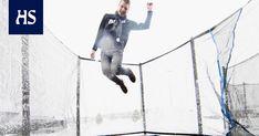 Tarmo Sallinen kiinnostui trampoliineista vaihto-oppilaana Yhdysvalloissa. Nyt yli puolet hänen yrityksensä liikevaihdosta syntyy Yhdysvalloissa. Minnesota, Amazon, Movies, Movie Posters, Art, Art Background, Amazons, Riding Habit, Films