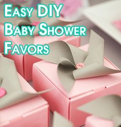 Easy, affordable favor ideas that you can make yourself with minimal effort.