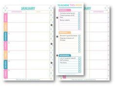 The best and cutest free Weekly planner I've seen so far!