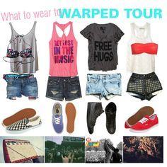 What to wear to Warped Tour Pastel Outfit, Rock Star Outfit, Grunge, Concert Looks, Cool Outfits, Summer Outfits, California Outfits, Indie, Sneakers Looks