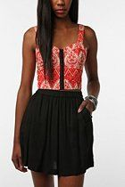 Lucca Couture Cut-Out Back Bustier  #UrbanOutfitters