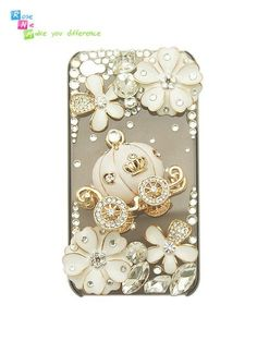 Cinderella inspired coach iPhone Case - perfect wedding gift