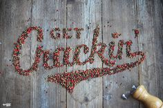 27 Photos Of Beautiful, Edible Typography That Literally Look Good Enough To Eat.