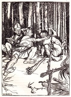 Arthur Rackham's Rare and Revolutionary 1917 Illustrations for the Brothers Grimm Fairy Tales – Brain Pickings Brothers Grimm Fairy Tales, Grimm Tales, Haida Art, Classic Fairy Tales, Arthur Rackham, Aboriginal Art, Animal Design, Artist Art, Architecture Art