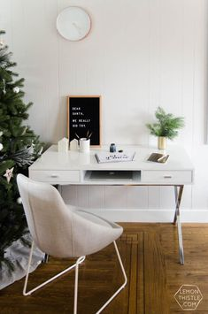 Holiday Home Tour A Family Full Of Frosted Greens