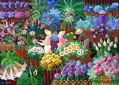 Flower Market by Malu Delibo