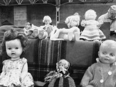 Dolls were had by all little girls!