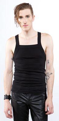 LIP SERVICE Black Ice sleeveless shirt #M12-132