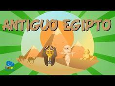 EL ANTIGUO EGIPTO | Vídeos Educativos para Niños - YouTube Ancient Egypt Mummies, Ancient Egypt Activities, Ancient Egyptian Art, Ancient History, Mummy Crafts, Egypt Mummy, Historical Art, Educational Videos, Beautiful Drawings
