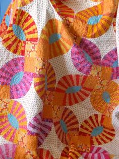 Pickle Dish Quilt Along | Sue's pickle dish quilt from September's Quilting on the Downs