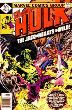 Incredible Hulk # 214 by Rich Buckler & Ernie Chan