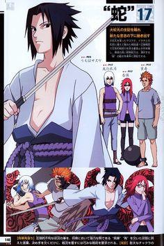 Studio Pierrot, Naruto, Suigetsu Hozuki, Juugo , Sasuke Uchiha