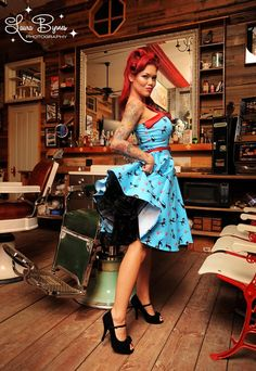 Pinup Couture Netti Dress in Cat Print Sateen with Red Sateen Trim http://www.pinupgirlclothing.com/pc-netti-cat.html#