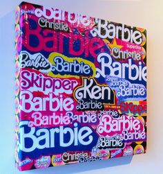 Pink Barbie art!!!