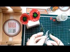 "Tutorial: waffer papper poppy flowers. Мастер-класс: Цветы "" Мак "" из вафельной бумаги - YouTube"