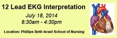 Courses Education Center, Continuing Education, Ekg Interpretation, Beth Israel, Nursing, Website, School, Breast Feeding, Nurses