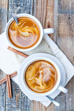 Easy Pumpkin Spice Chai Latte, featuring real pumpkin, can be whipped up in just a few minutes for you to enjoy and warm up with this fall. #PumpkinDelight #IDelight @goodlifeeats