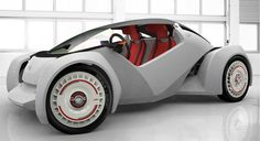 First car make it in 3D printer