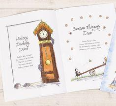 Personalised Book Of Nursery Rhymes from notonthehighstreet.com