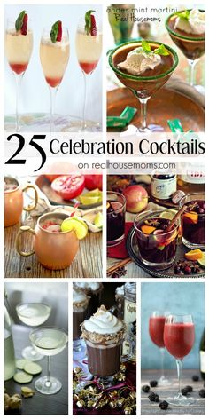 25 Celebration Cocktails on Real Housemoms