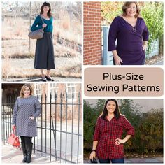There's no better time to add a few fresh, new pieces to your wardrobe than when the seasons are transitioning. If freshening your wardrobe involves stitching plus-size sewing patterns, Craftsy can help. Take a peek at just a few of our favorite plus-size sewing patterns!