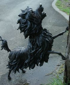 Hairy Maclary sculpture